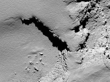 El cometa 67P Churyumov-Gerasimenko