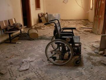 Un hospital bombardeado en Siria