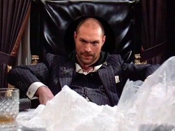 Tyson Fury, como 'Scarface'