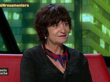 La escritora Rosa Montero, en laSexta Noche
