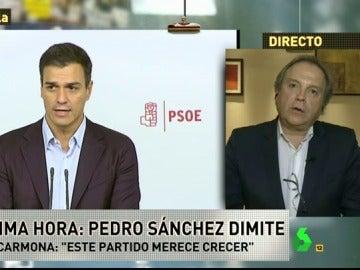"""Frame 52.212038 de: Antonio Miguel Carmona, ¿abstención o terceras elecciones?: """"Los socialistas no tenemos la llave para abrir esa puerta"""""""