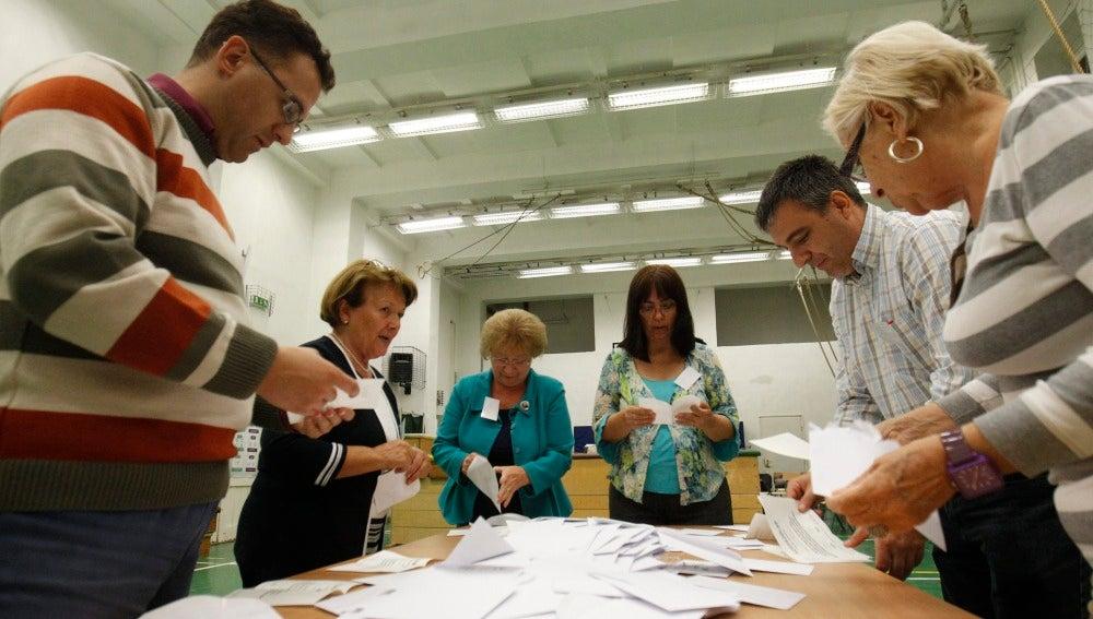 Votación en Hungría