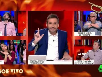 Frank Blanco presenta el 'cornetómetro' en Al PSOE Vivo