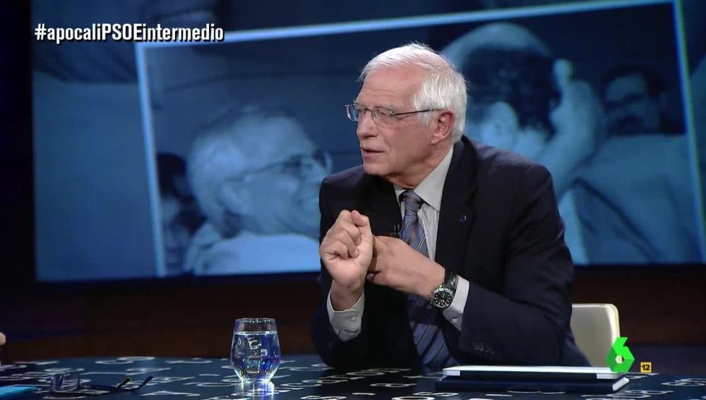 Josep Borrell visita El Intermedio
