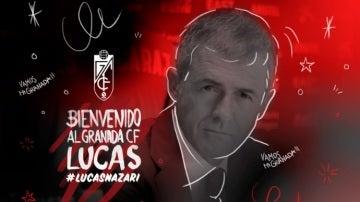 Lucas Alcaraz, nuevo técnico del Granada