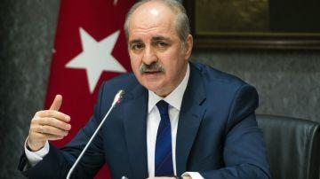 El viceprimer ministro turco, Numan Kurtulmus