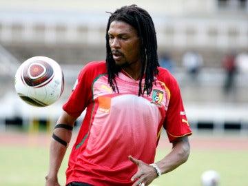 El futbolista camerunés Rigobert Song