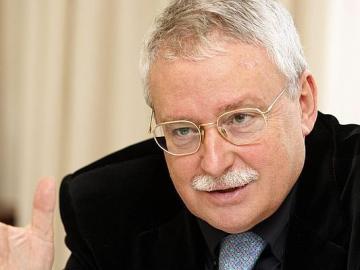 Joaquín Leguina, expresidente de la Comunidad de Madrid