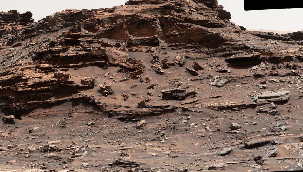 Zona M9a dentro de Murray Buttes en una imagen tomada por la cámara MastCam del rover Curiosity el pasado 1 de septiembre