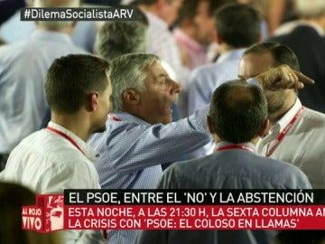 Frame 29.10434 de: Esto es un adelanto de lo que aún no viste sobre el caótico Comité Federal del PSOE