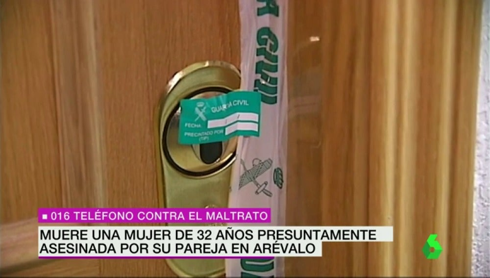 Frame 21.277185 de: Un hombre mata a su pareja de 32 años en la localidad abulense de Arévalo