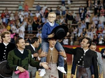 Adrián, niño con cáncer que sueña con ser torero