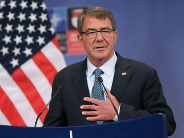 Foto de archivo del secretario de Defensa estadounidense, Ashton Carter