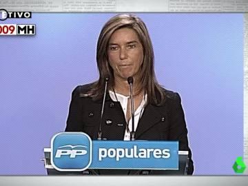 Ana Mato, en 2009
