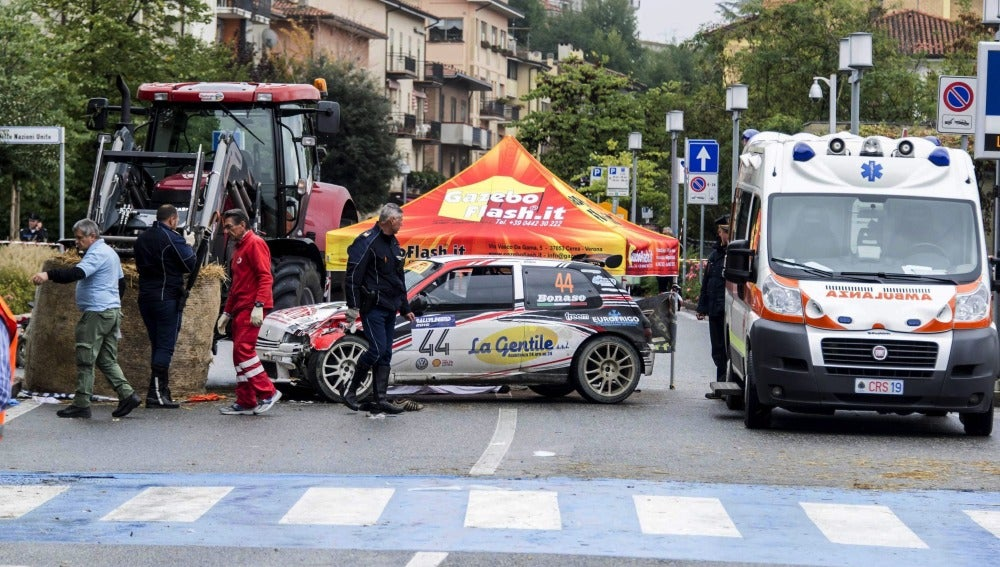 Trágico accidente en un rally de coches clásicos en San Marino