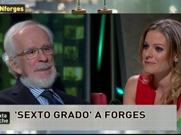 """Frame 18.477928 de: Forges: """"El señor Aznar no tiene ningún sentido del humor y eso es rarísimo"""""""