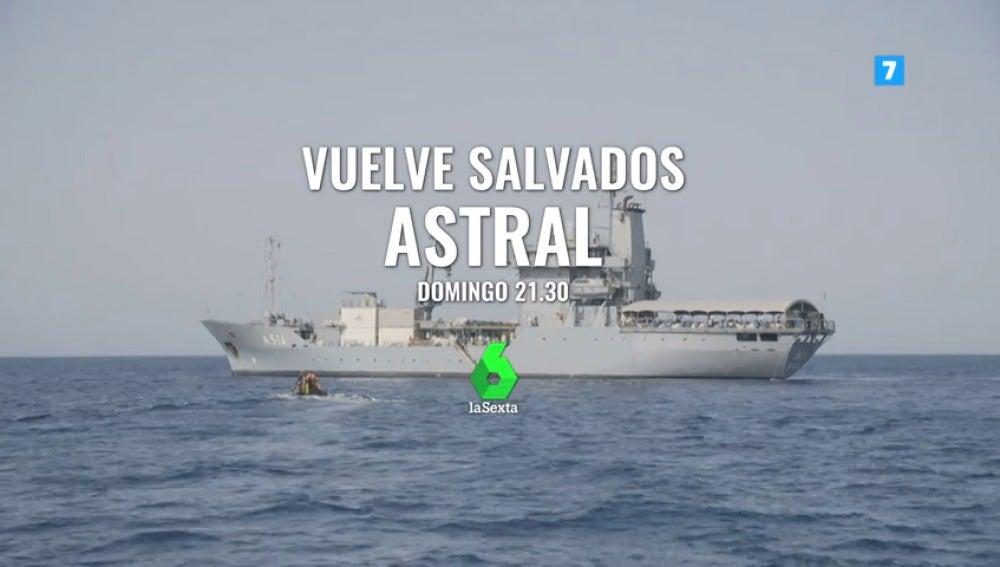 Frame 18.804519 de: Salvados vuelve este domingo a laSexta con su estreno más especial: 'Astral', el dramático documental sobre los refugiados