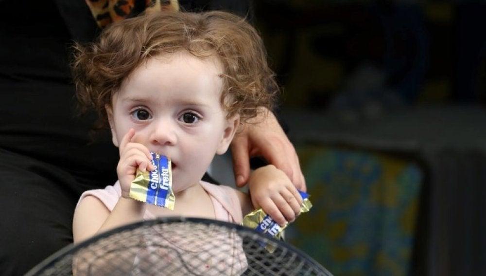 Imagen de la pequeña Qamar