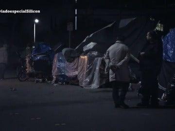Frame 234.344439 de: La otra cara de Silicon Valley, la de 10.000 personas que viven en la calle por el elevado nivel económico de la zona