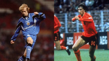 Jordi y Johan Cruyff