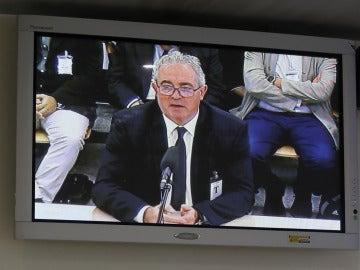 Francisco Verdú durante su declaración en el juicio por las 'tarjetas black'