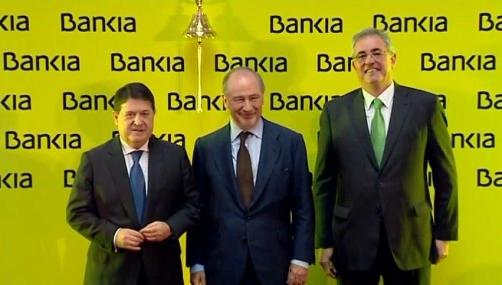 Frame 55.400311 de: El Banco de España alertó de la situación crítica de Bankia y de que su salida a bolsa costaría 15.000 millones