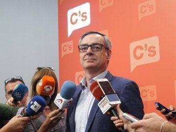 El vicesecretario de Ciudadanos, José Manuel Villegas