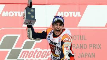 Márquez, ganador del GP de Japón y del Mundial 2016