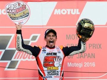 Marc Márquez se proclama campeón del mundo