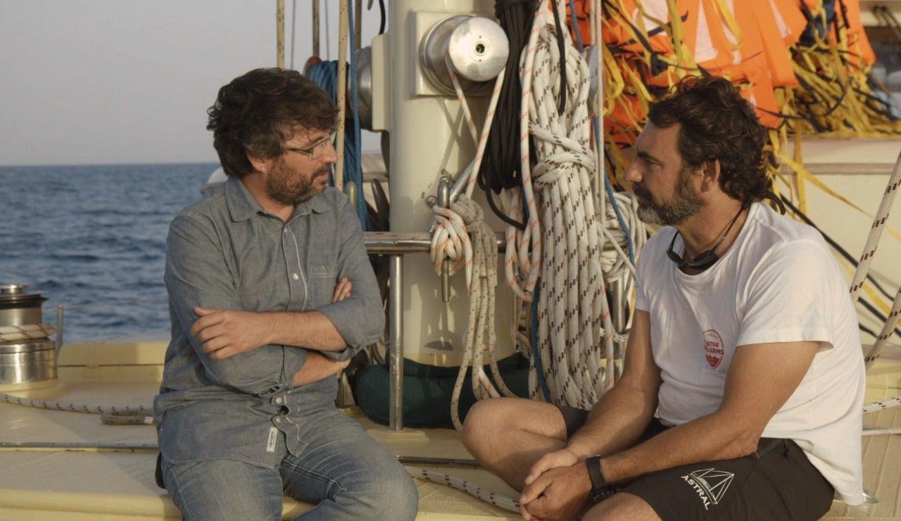 Jordi Évole entrevista a Óscar Camps en Salvados