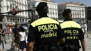 Policía municipal de Madrid en una imagen de archivo