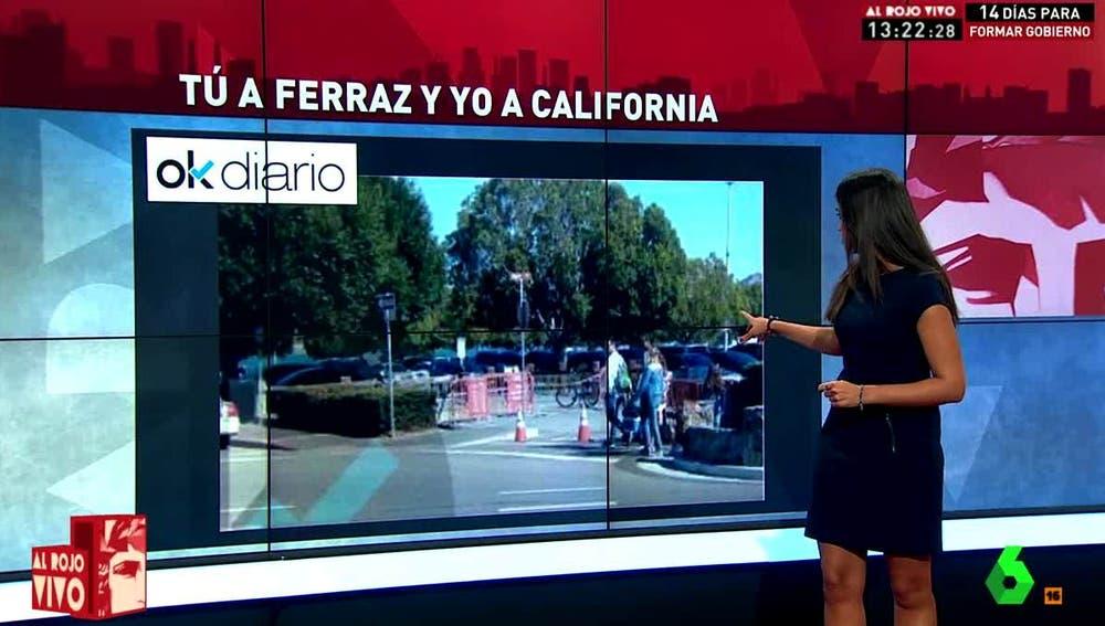 Pedro Sánchez en California