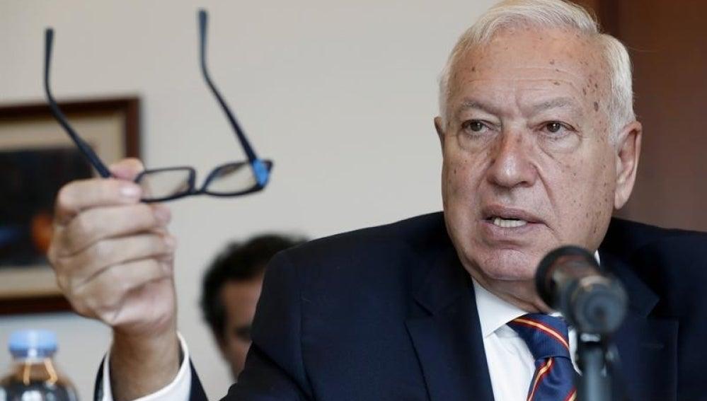 El ministro español de Exteriores, José Manuel García-Margallo