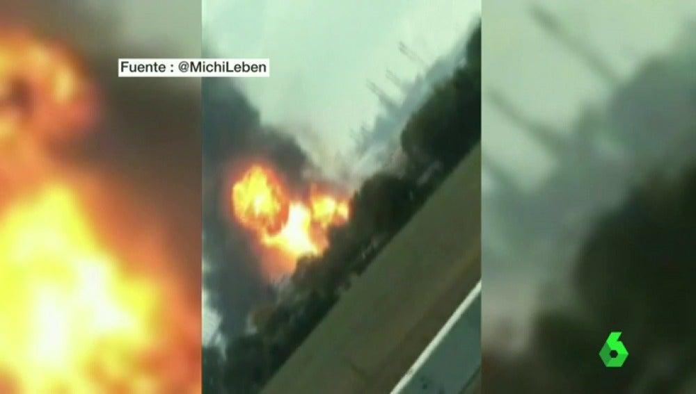 Frame 0.131679 de: Varios heridos y desaparecidos en las explosiones de dos plantas químicas de Alemania