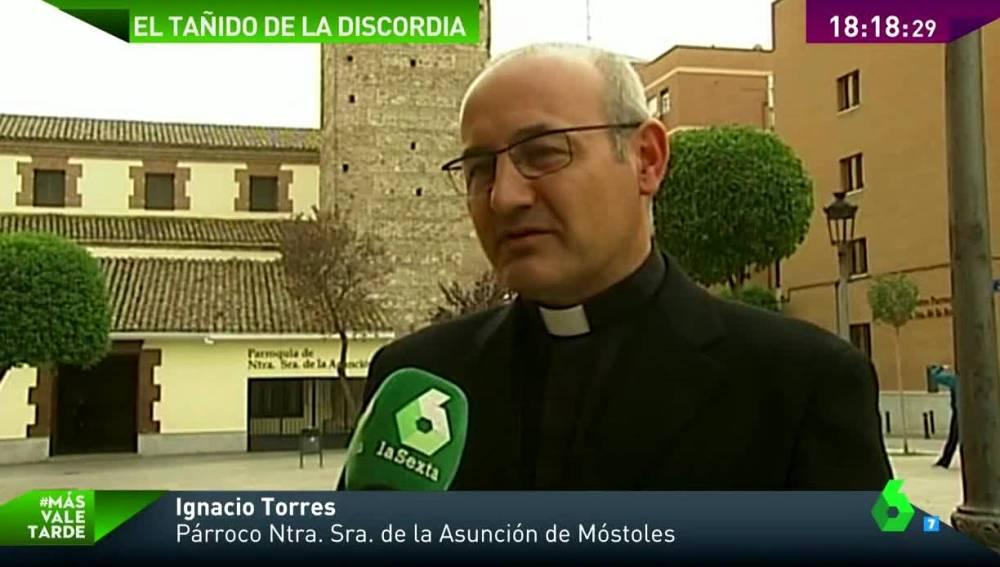 Ignacio Torres, párroco de la iglesia de la Asunción de Móstoles
