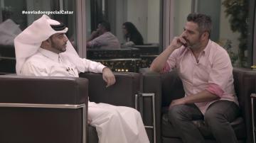 Jalis de la Serna entrevista en Enviado especial a una persona de la familia real catarí