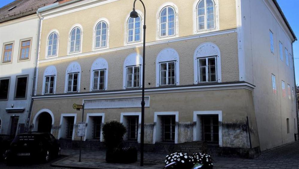 Imagen de la casa natal de Adolf Hitler