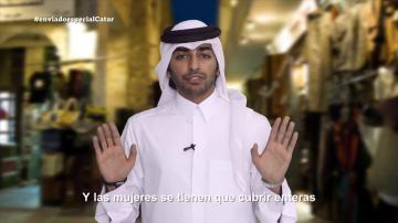 Hombres de blanco, mujeres de negro: la indumentaria recomendada para presentarse  en sociedad en Catar
