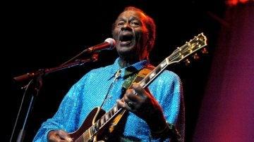 Imagen de archivo tomada el 7 de noviembre de 2005 del músico estadounidense Chuck Berry
