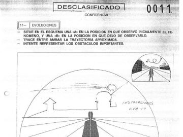 Documento publicado por el Ministerio de Defensa