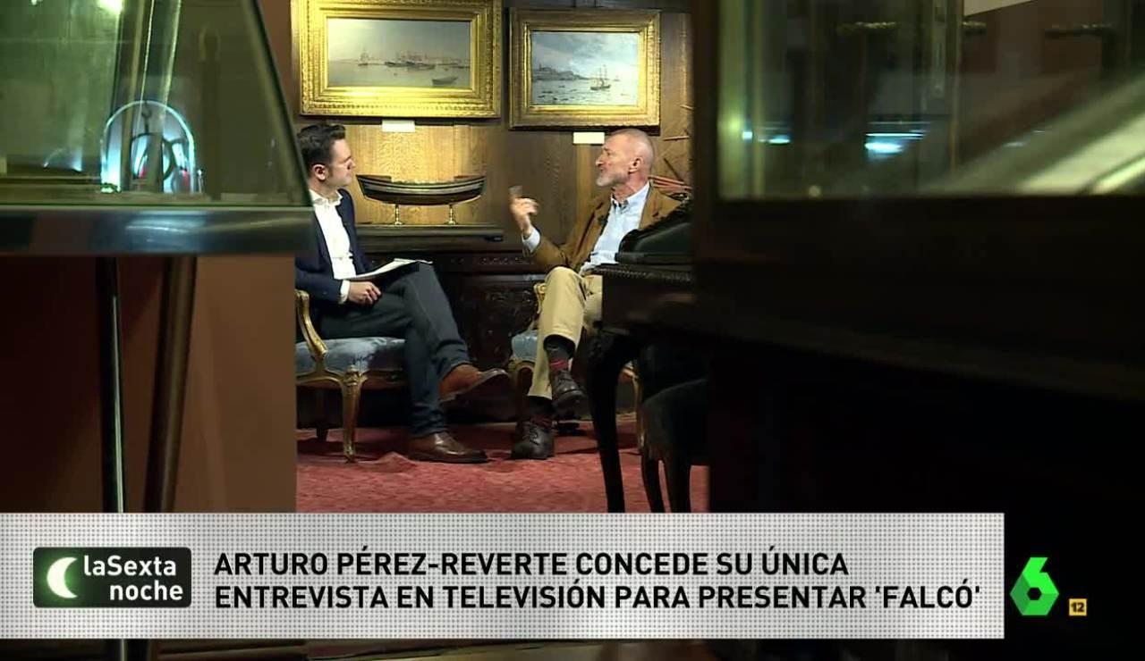2. Arturo Pérez Reverte en laSexta Noche