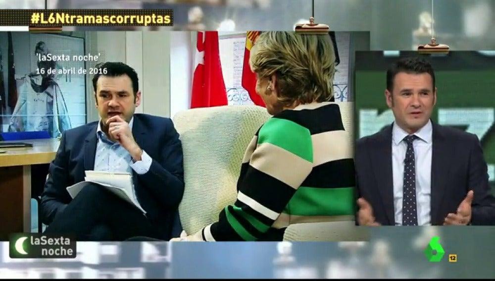 LA SEXTA TV | Iñaki López, a Aguirre: \