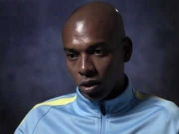 Fernandinho, centrocampista del Manchester City