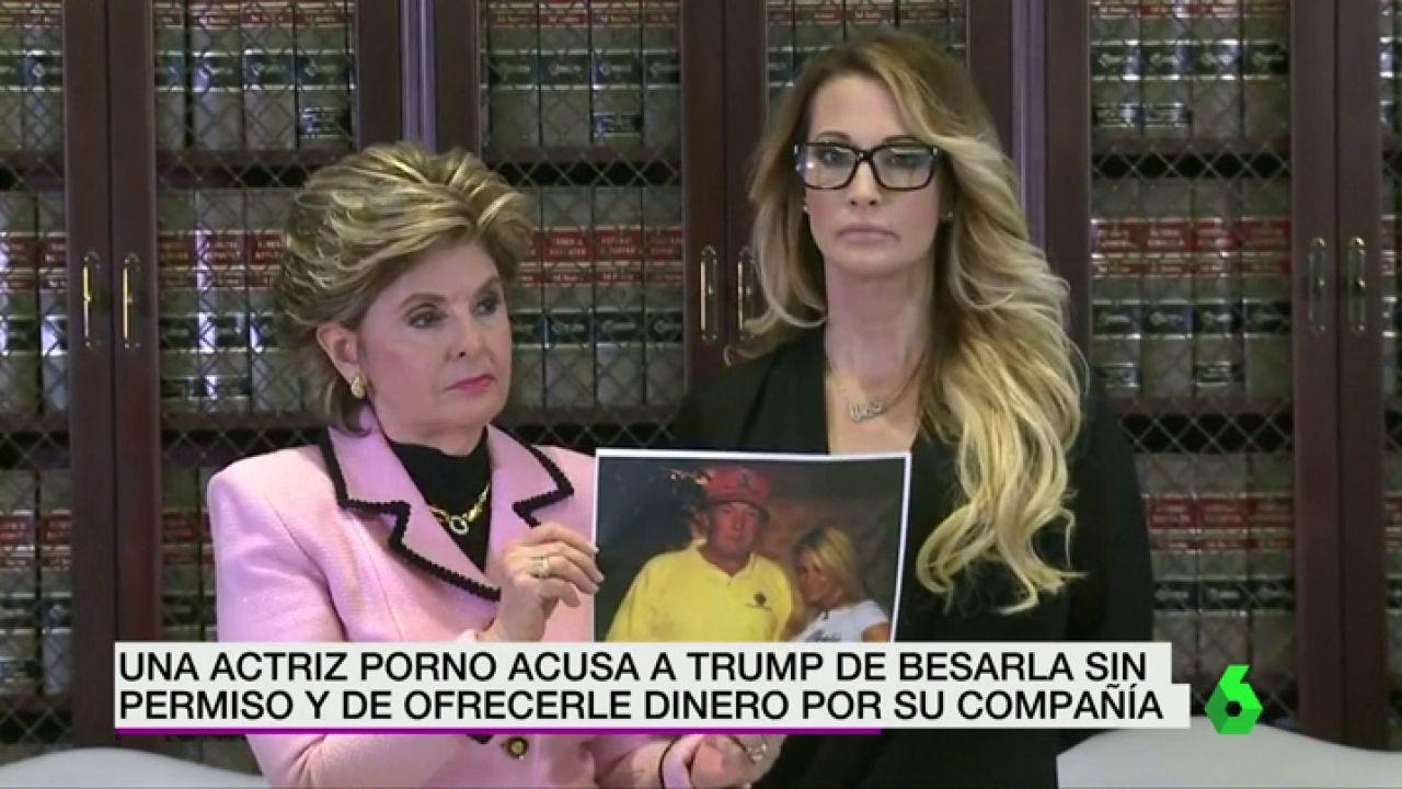 Actrices Porno En Madrid En Plena Calle una actriz porno acusa a trump de besarla sin permiso y de ofrecerle dinero  por su compañía