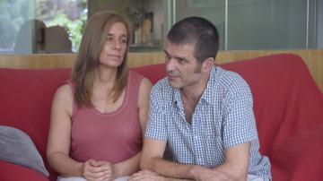 Carlos Martínez, enfermo terminal de ELA