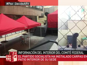 Patio interior del PSOE