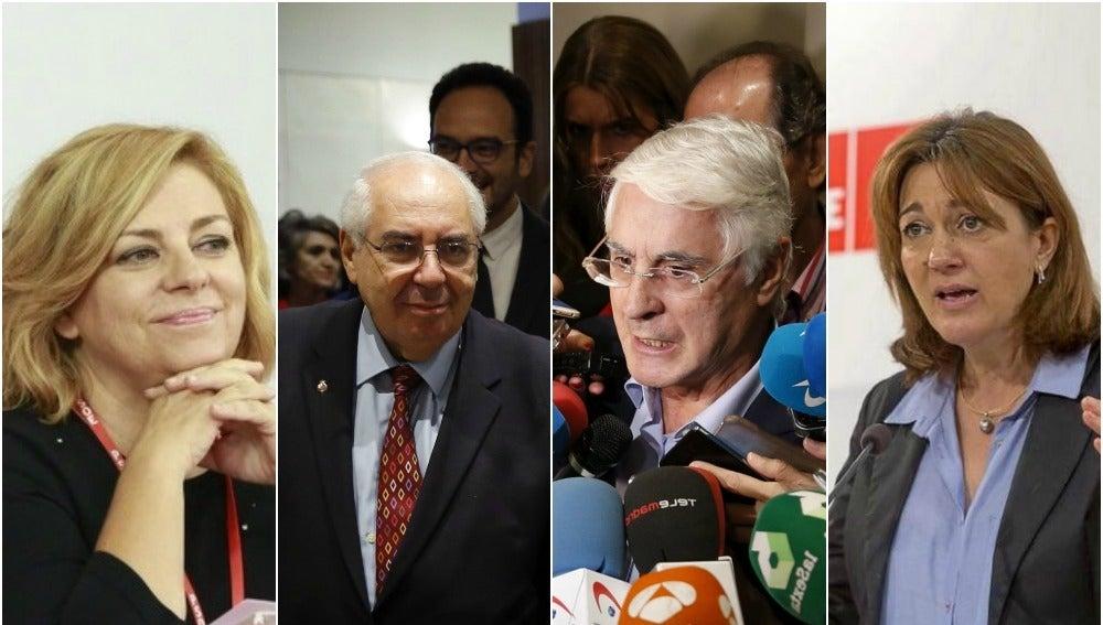 Valenciano, Arces, Barreda y Rodríguez