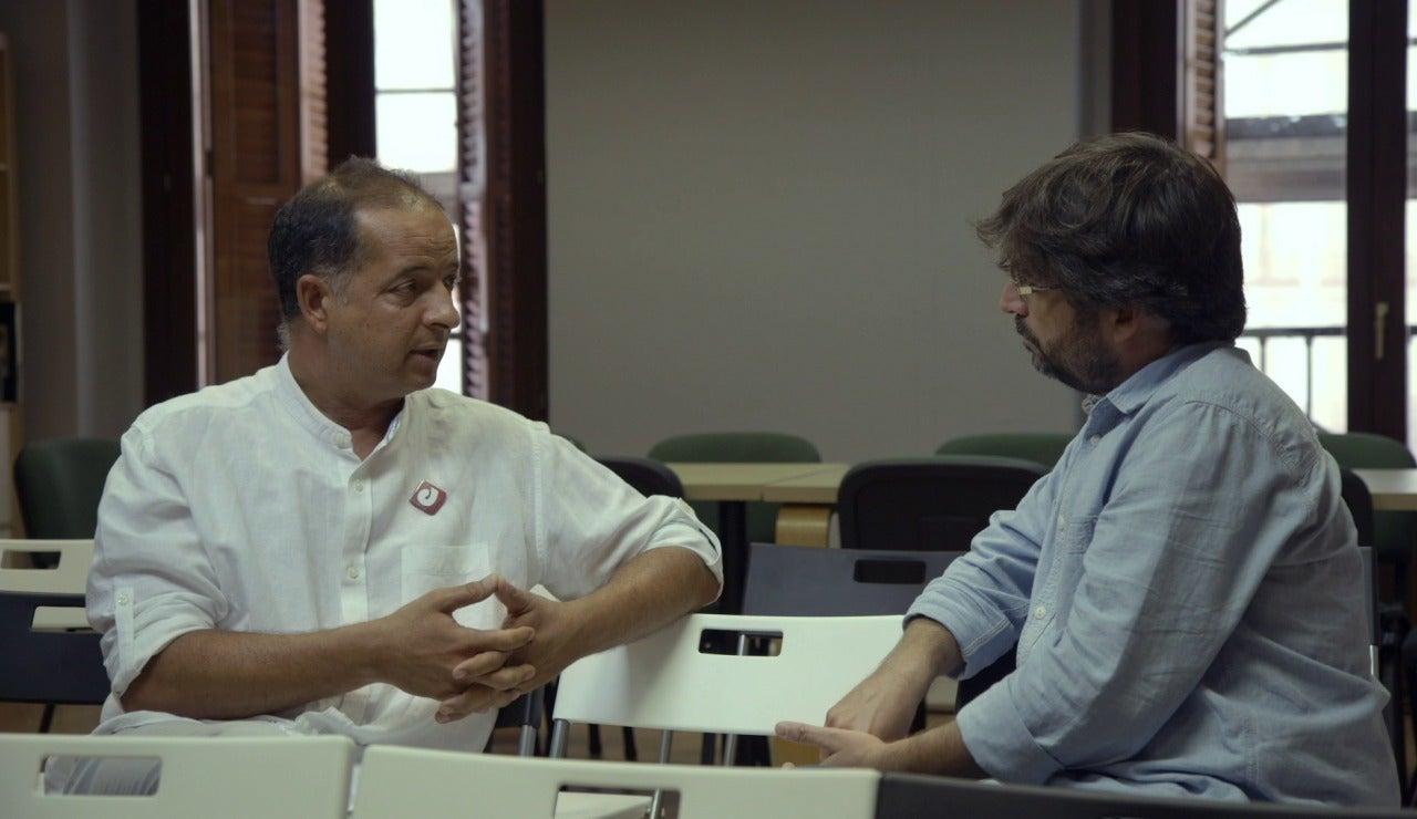 El presidente de DMD habla con Jordi Évole