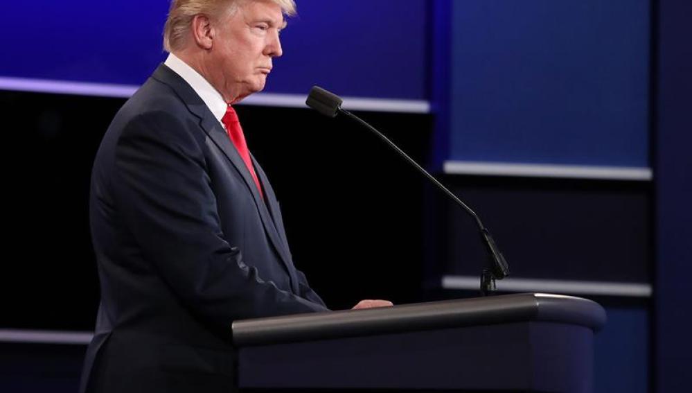 El candidato a la Presidencia de EE.UU. por el partido republicano Donald Trump