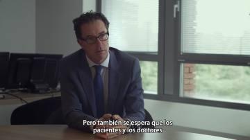Erik Van Wijlick, del Real Colegio de Médicos de Holanda